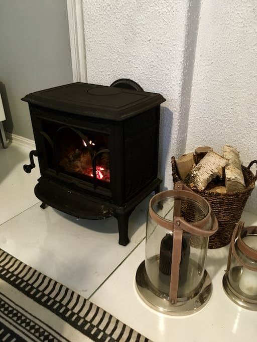 Complimentary fire wood during the winter months