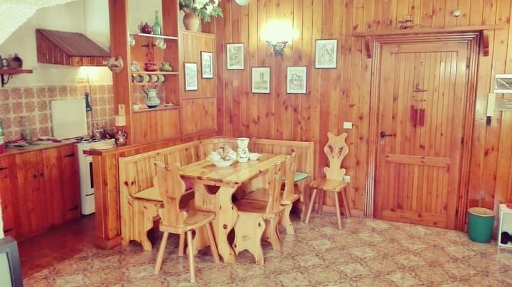 Grazioso appartamento a Monte Livata (Subiaco)