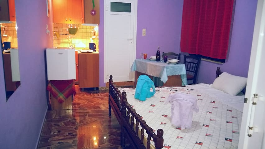 Kostas apartment 5 klm from town - Chania - Apartemen