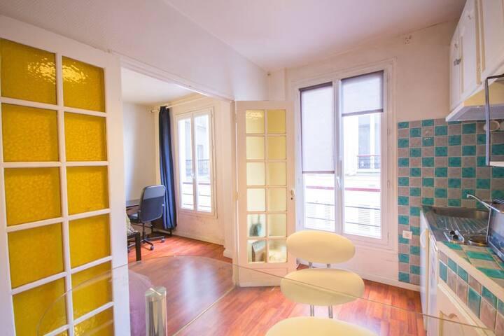 Studio au ❤️ de Montmartre