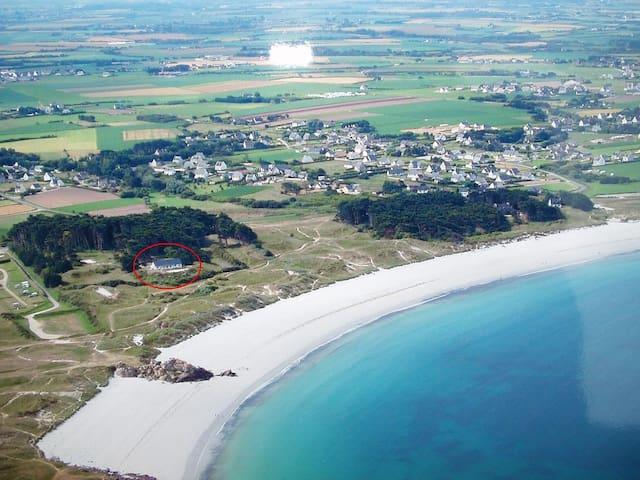 Maison avec accès direct à la plage - Ploudalmézeau - Dom