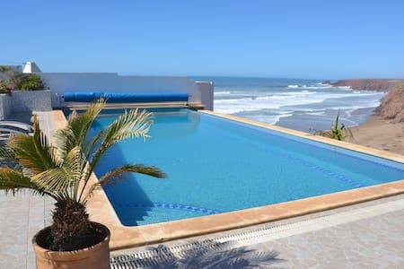 Vacation Home overlooking the beach in Morocco - Mirleft - Villa