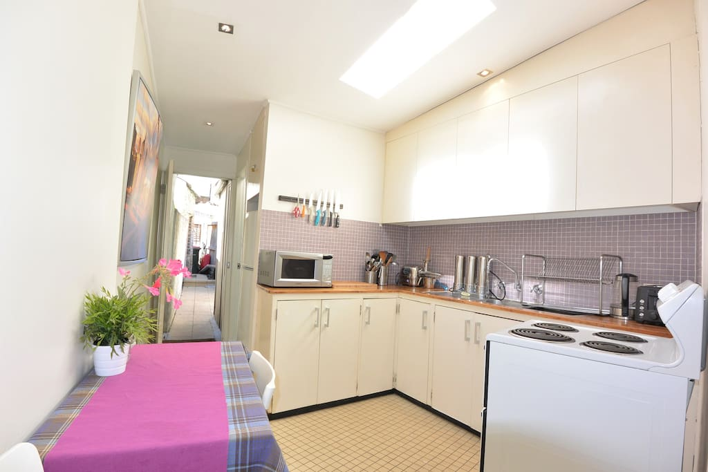 Large Kitchen with full cooking facilities
