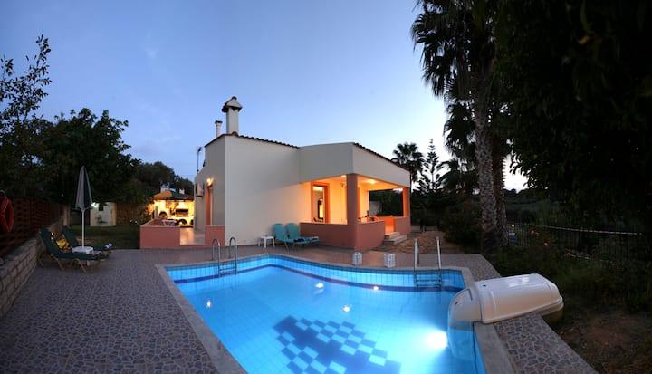 Villa Elena *CRETE* *Private Pool* 2bdrms *WiFi*