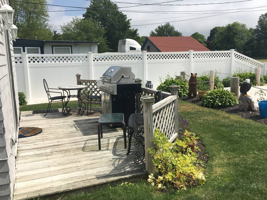 Perfect spot for afternoon grilling