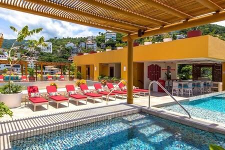 V177    Luxury and Modern Studio Close to Beach - Puerto Vallarta