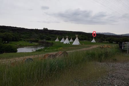 Lava Family Camp Ground East River Tribe Tipi 6