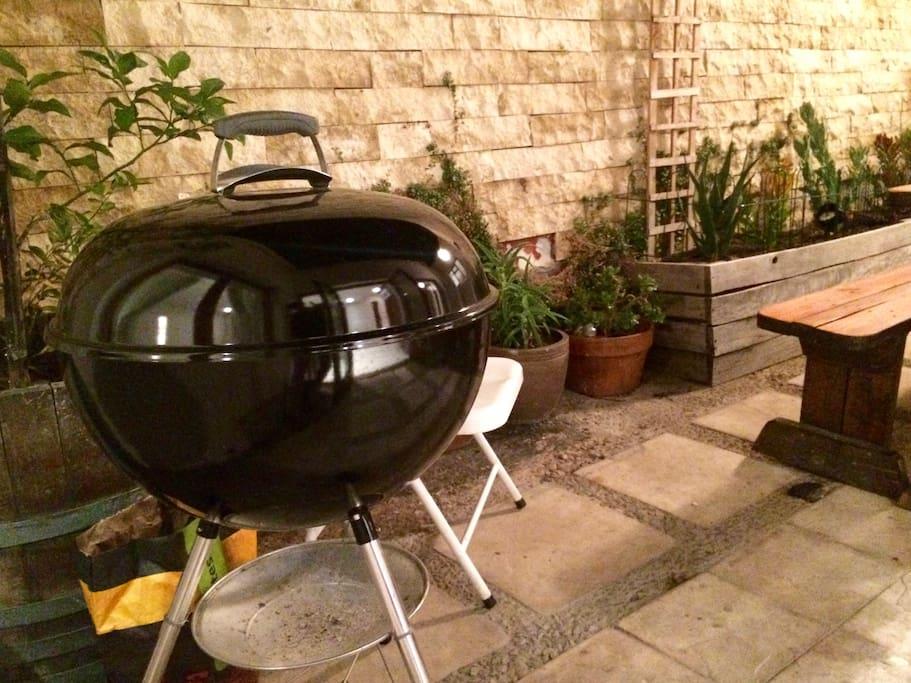 Weber charcoal braai