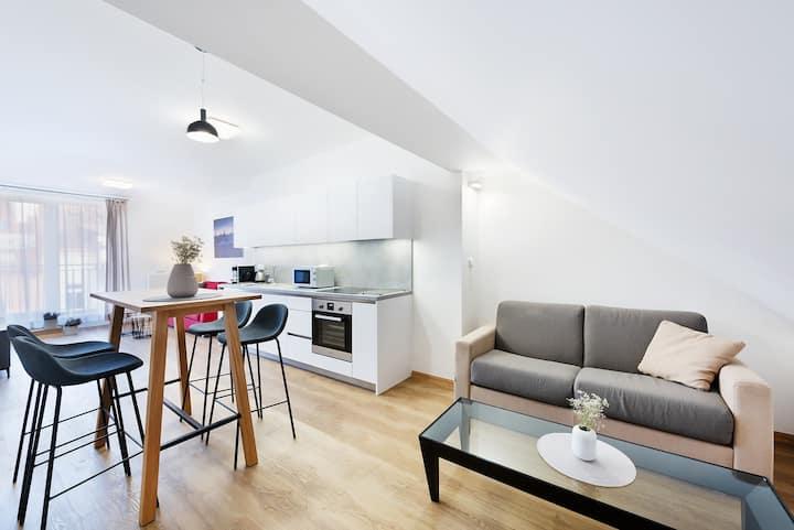 Prague Roof Apartments - Apartmá s terasou 2