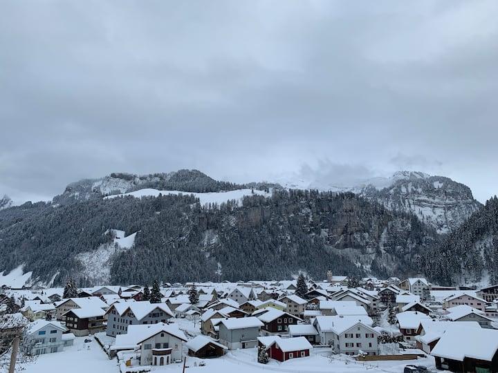 Bauernhaus Whg in den Alpen. Apartment in the Alps