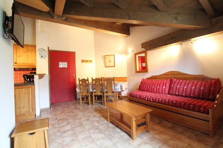 BONB46M - Spacious apartment for 6 persons near the slopes
