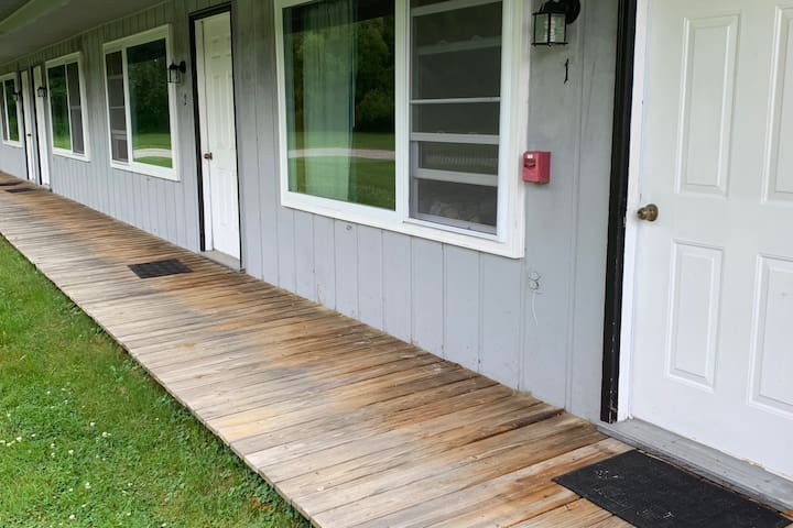 Private basic cabins on 15 beautiful acres