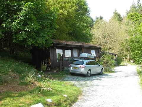 Small lodge at Craig Highland Farm, Plockton