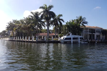 Private house on the water (Designer Decor) - Boca Raton - Maison