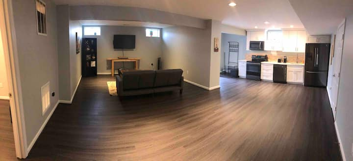 Private Large Basement Unit for Comfort & Privacy