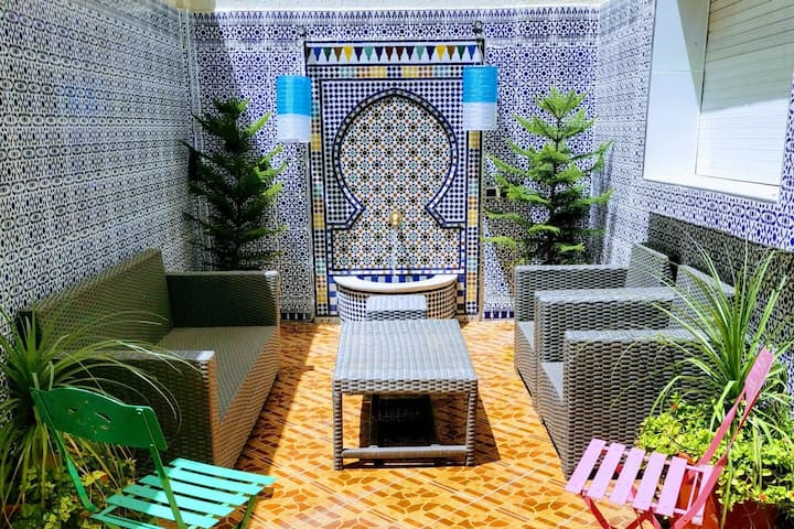 Adam's House-moroccan style