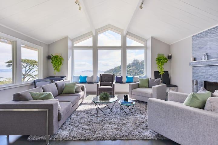Sausalito Vacation House - VIEWS!
