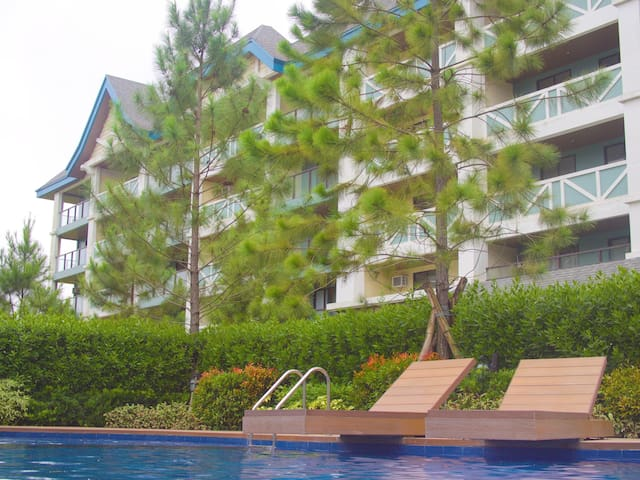 2BR Unit at Pine Suites Tagaytay (with WiFi/Cable)