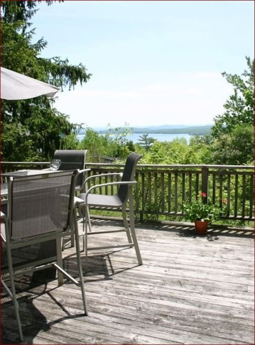 Lovely Sun Deck and View