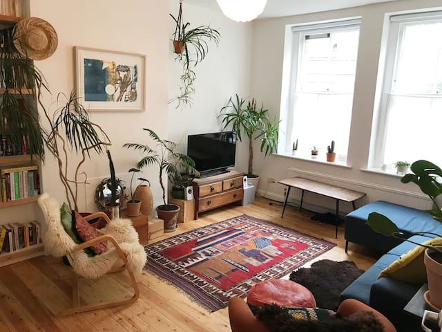 Large stylish entire flat in the heart of Hackney