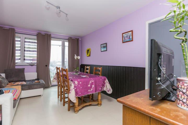 Chambre Private Room Paris / Airport CDG / TV wifi