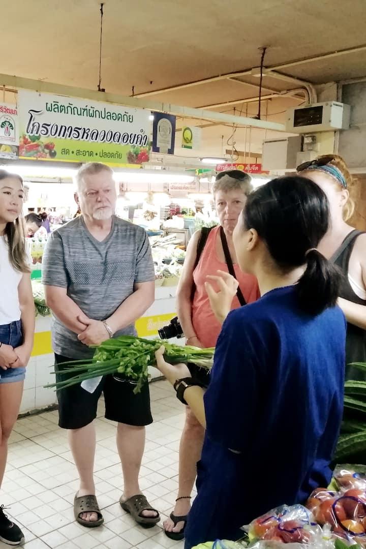 Fresh market tour