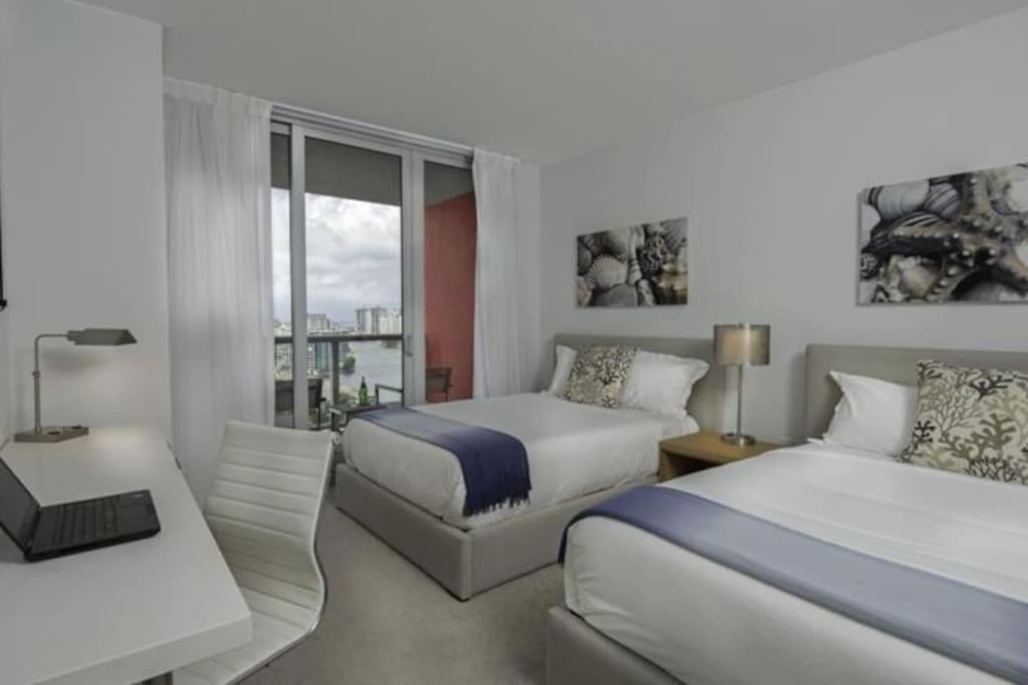 Executive Room at BeachWalk Resort ! Two beds