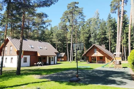 Two-bedroom apartments near the Baltic Sea