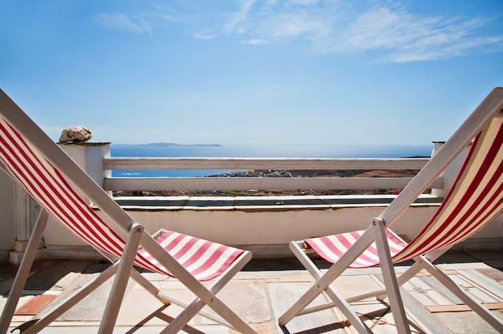 "Sea View Exclusive Living Studios | ""Naxos"" Suite"
