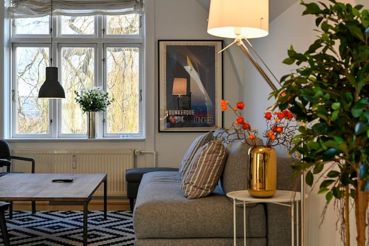 Super cozy 3-Bedroom Duplex Apartment in Frederiksberg close to Copenhagen Zoo