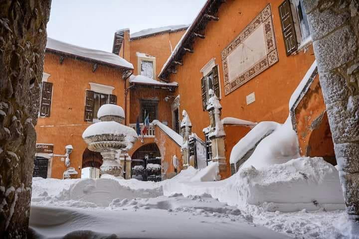 Casa Vacanze sul Gizio, tra storia neve e natura - Pettorano Sul Gizio - Reihenhaus