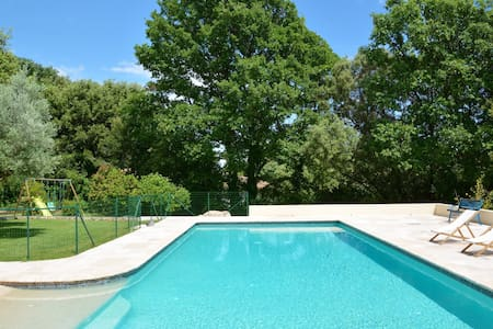 Provencal villa with pool and large garden - Assas