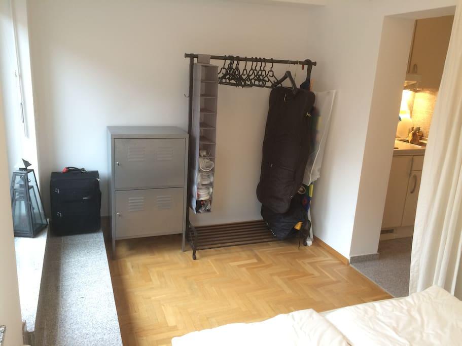 Platz für Deine Garderobe