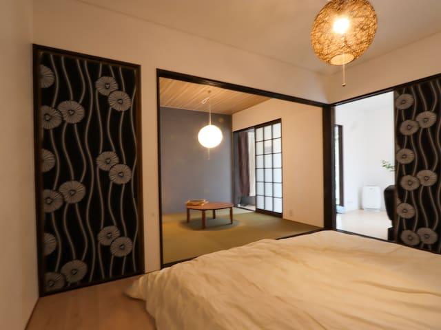 【Kamakura/Hakone】Exclusive Room 50㎡/7ppl/St.10mins