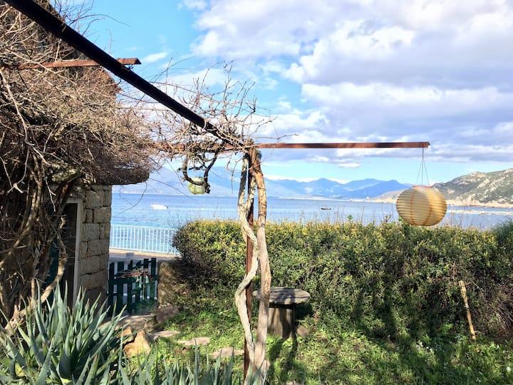 Charme,  Maison de Pêcheurs, bord mer.