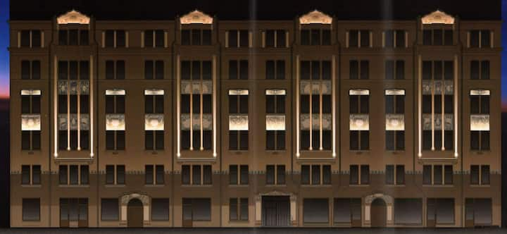 Brand new modern luxury condominium apartment