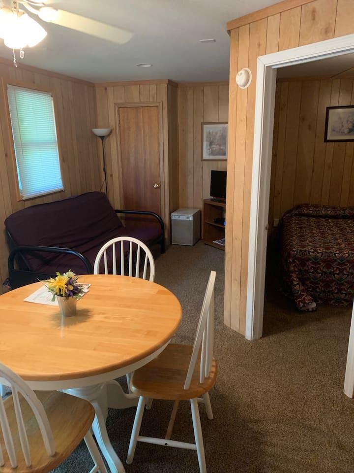 Suite 6, our 1 bedroom economy suite