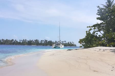 THE boat to be in San Blas - Welcome to  paradise!