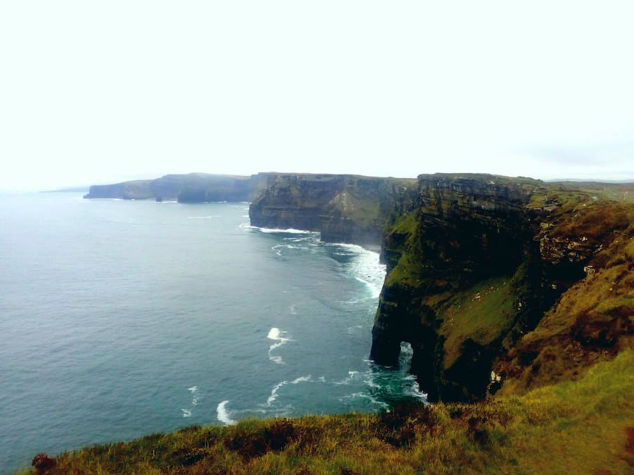 Cliffs of Moher trail, 50meters away