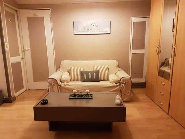Nice bedroom in Paris suburbs