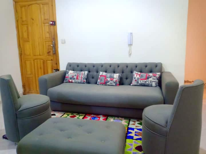 Apartment with 2 bedrooms in Ville Nouvelle - Fès, with wonderful city view, terrace and WiFi