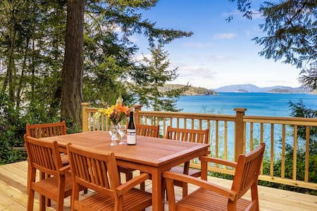 2BD Waterfront Cabin on Hunter Bay - Lopez Island