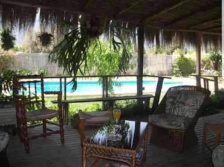 Casa Olmué-gran piscina 10x5- jardines-P28 central