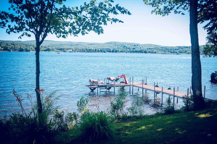 Chalet de L'Érablière du Lac Wallace