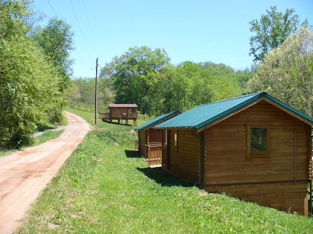Small Cabin Mountain Getaways Near Asheville NC - Canton - Srub