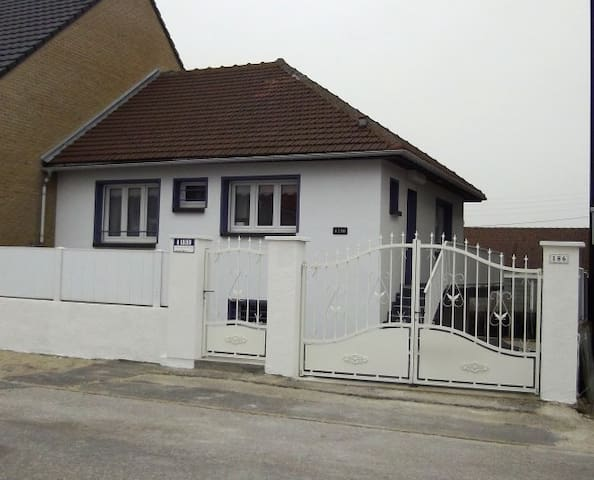 """maison """"a deux pas""""vue sur mer - Bray-Dunes - บ้าน"""