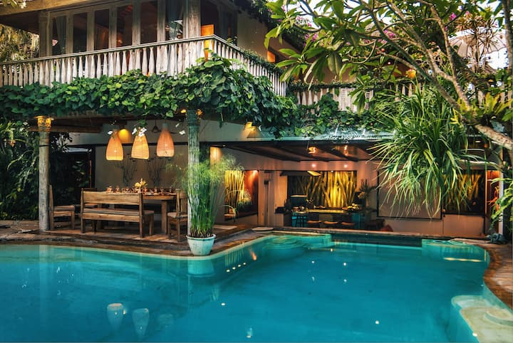 5BDR HIDDEN VINTAGE GEM IN SEMINYAK WITH CHEF