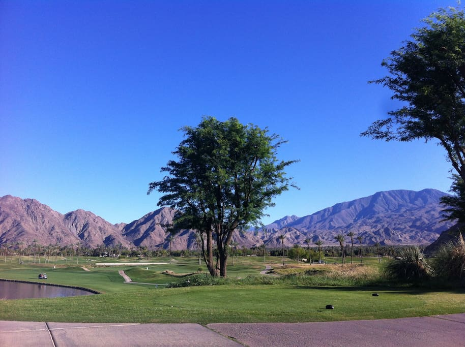 Near Mountain and Dunes Golf Courses at La Quinta Resort and Club