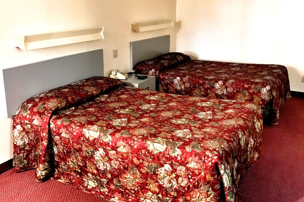 Two Double Size Beds
