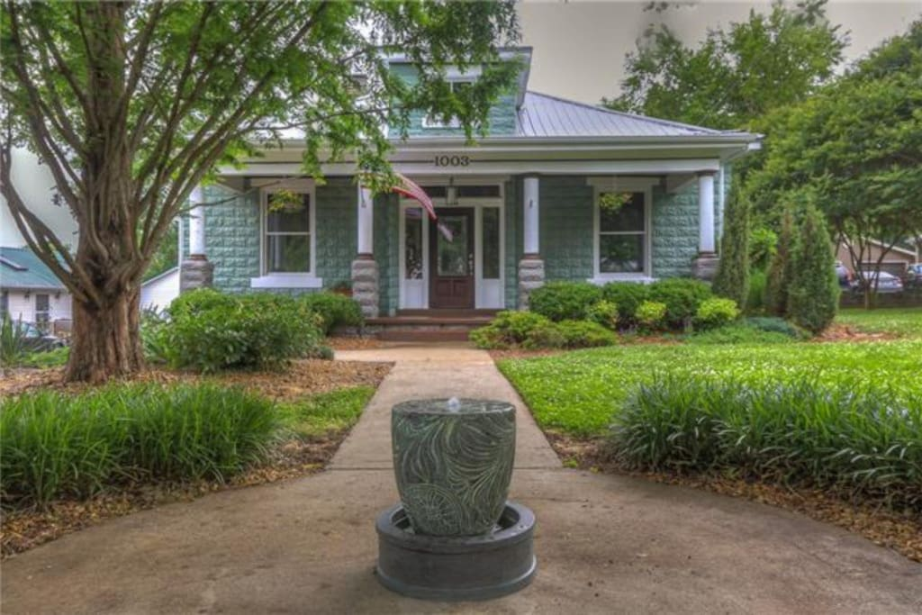 We'd love for you to stay at our historic craftsman in the heart of East Nashville.  It's walking distance to food, a quick Uber to everything downtown and has all the comforts of home!